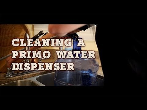 Cleaning a Primo Water Dispenser