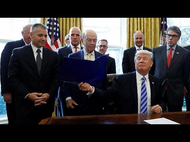 Трамп выдал разрешение на строительство нефтепровода Keystone XL