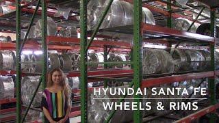 Factory Original Hyundai Santa Fe Wheels & Hyundai Santa Fe Rims – OriginalWheels.com