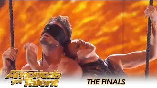 HOT Couple Duo Transcend Gives INTENSE Performance On AGT Finals | America's Got Talent 2018