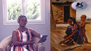 """""""Mes œuvres ne sont que des rejaillissements de mon intérieur"""" l'artiste peintre Rebecca Kouassi"""
