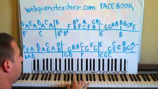 How To Play Arthur's Theme On The Piano Shawn Cheek Piano Lesson Tutorial