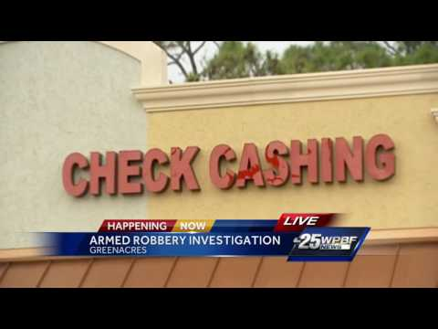 Person Robbed Outside Check Cashing Store