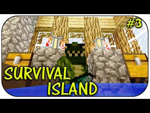 "★Minecraft XBOX   ""SURVIVAL ISLAND""   The Diamond Wizard Episode 3★"