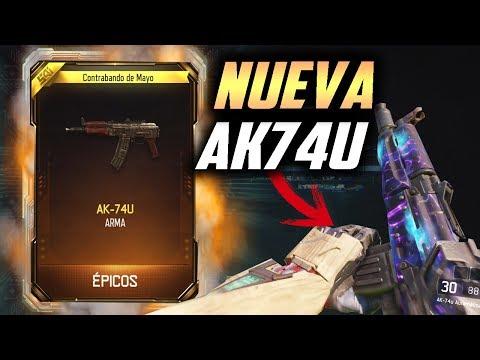 QUADFEED KILLCAM con la NUEVA Ak-74u !!! - Black Ops 3 -