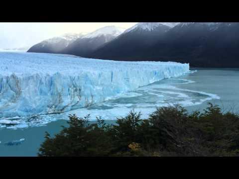 Ice calving at Perito Moreno Glacier, Los Glaciares National Park, Argentina