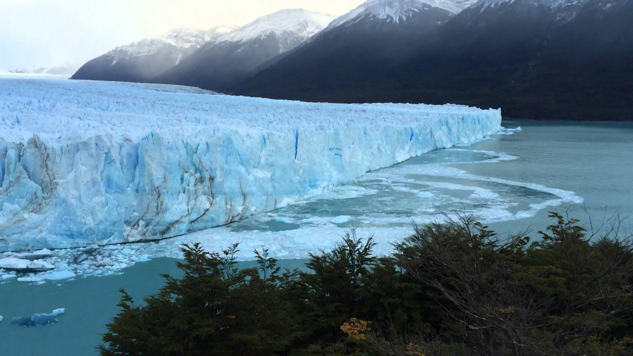 Ice Calving At Perito Moreno Glacier Los Glaciares