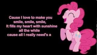 Pinkie Pie Smile Lyrics