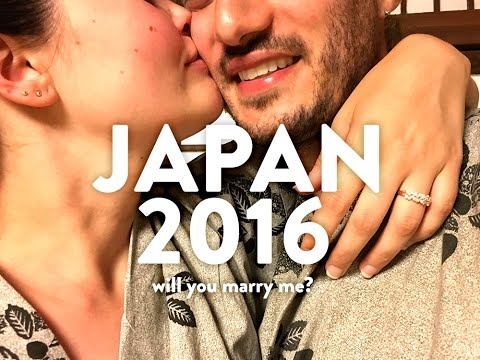 Holiday Japan 2016 + marriage proposal!