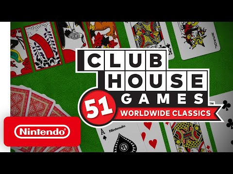 Clubhouse Games: 51 Worldwide Classics – Accolades Trailer – Nintendo Switch
