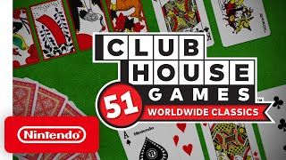 Clubhouse Games: 51 Worldwide Classics – Accolades Trailer - Nintendo Switch