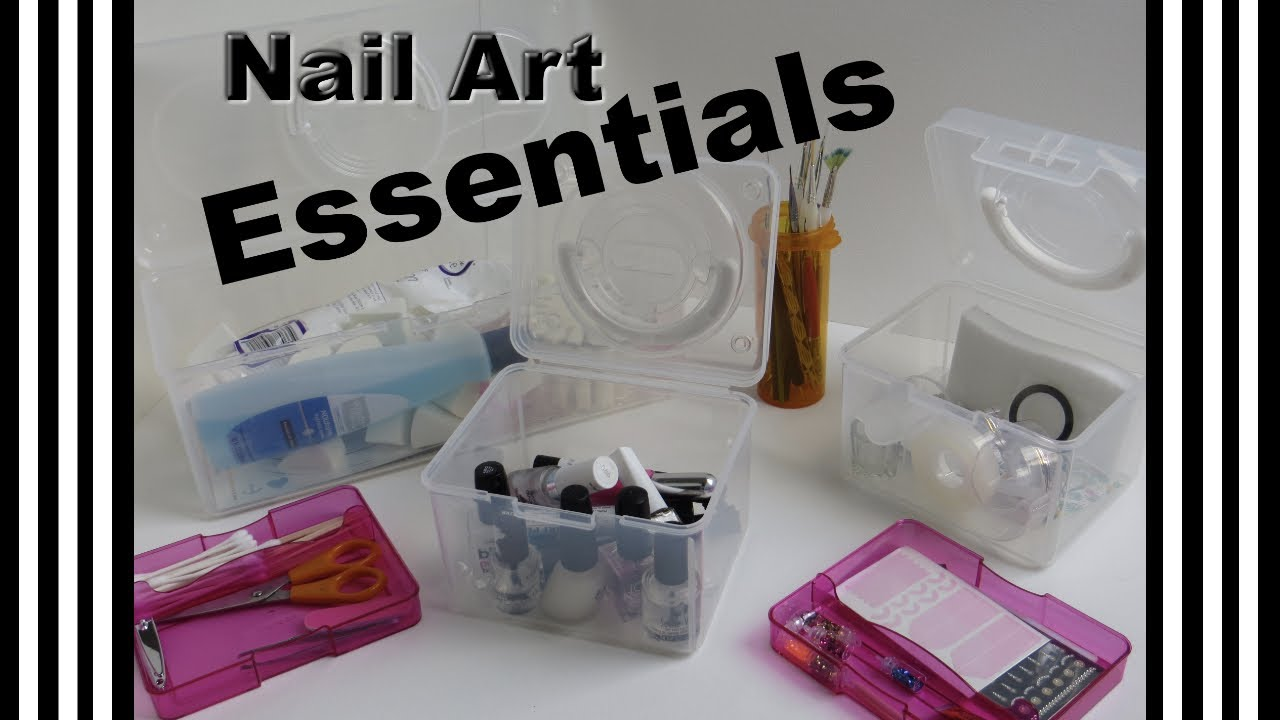 What\'s in My Nail Art Kit - 12 Essential Tools for Beginners ...