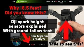 Dji Spark Downward vision sensors explained! Did you know this?
