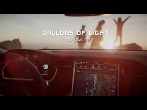 """Tesla Model S: """"Gallons of Light"""" Commercial"""