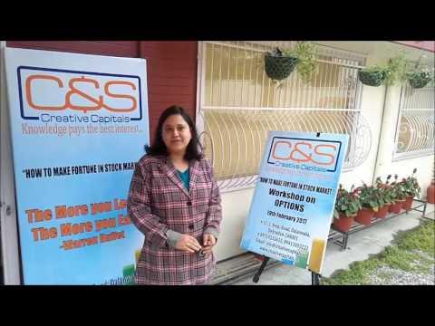 C & S Creative Capitals Share Market Workshop Testimonial