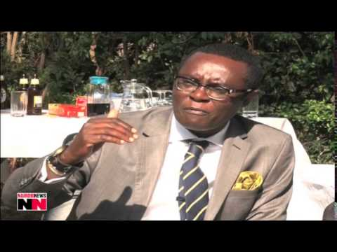 Mutahi Ngunyi atones for insulting Luos with emaciated goat