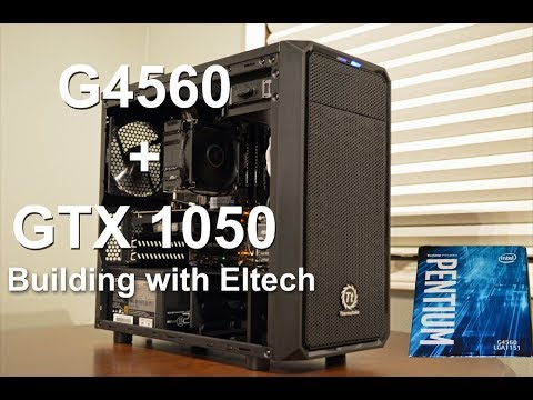 Building a G4560 + GTX 1050 Computer