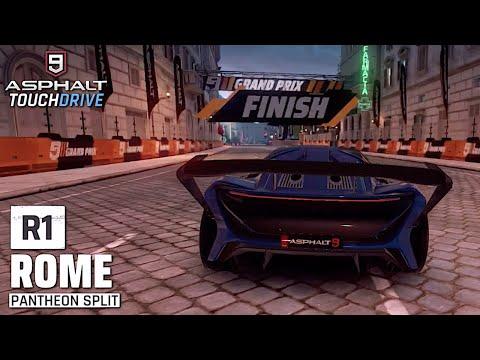 ASPHALT 9: LEGENDS - Techrules AT96 Grand Prix - Finals Round 1
