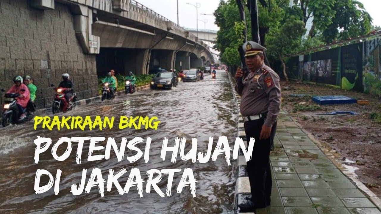 Prakiraan Cuaca BMKG Potensi Hujan di Jakarta dan ...