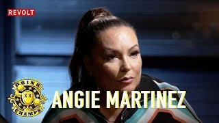 Angie Martinez talks interviewing Tupac, Biggie, Nas, Jay Z & more.| Drink Champs