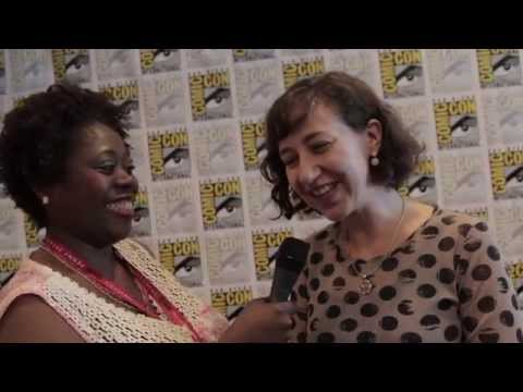 Geeking Out: Comic Con Interview w/Kristen Schaal the Toy Story That Time Forgot