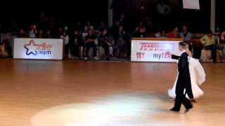 Final Standard - solo dance -  IDSF Inernational Open Transylvanian Grand Prix 2010