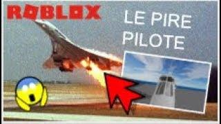 LE PIRE PILOTE D'UN CONCORDE AU MONDE ! - Roblox SFS Flugsimulator