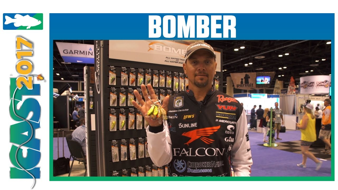 New Bomber Model A Crankbait Colors with Jason Christie | ICAST 2017