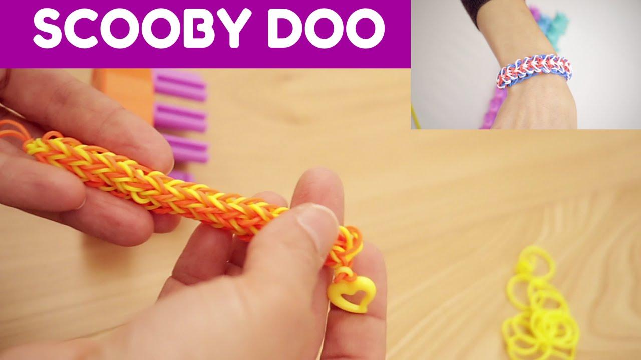 come fare uno scooby doo con gli elastici: scarica le istruzioni