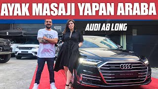 Audi A8 L | Car with foot massage function