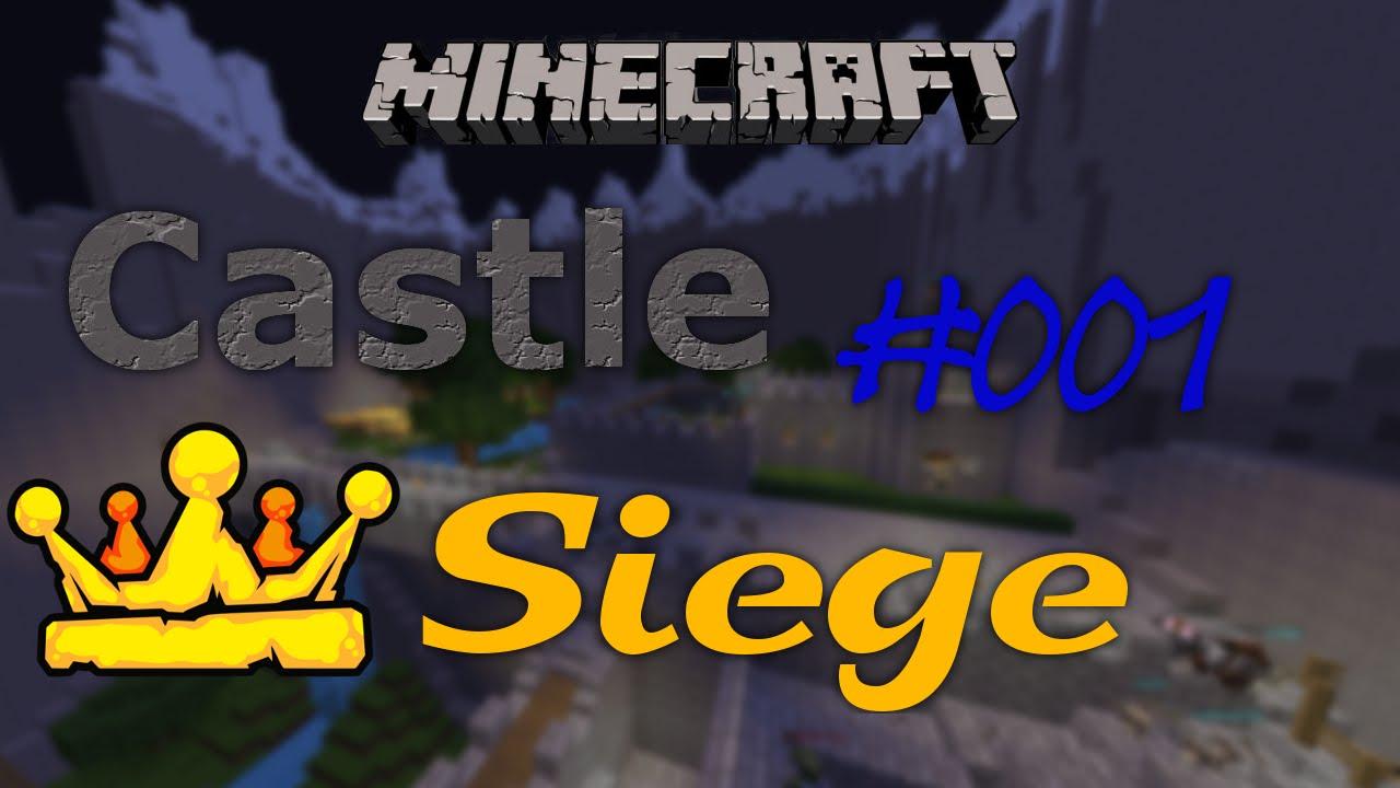 minecraft castle siege 001 ich habe eine erk ltung deutsch hd youtube. Black Bedroom Furniture Sets. Home Design Ideas