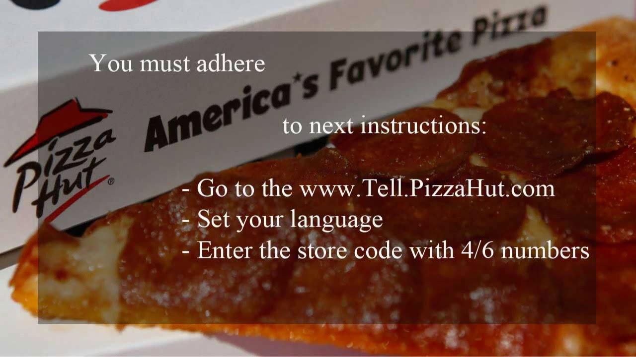 Pizzahut com survey