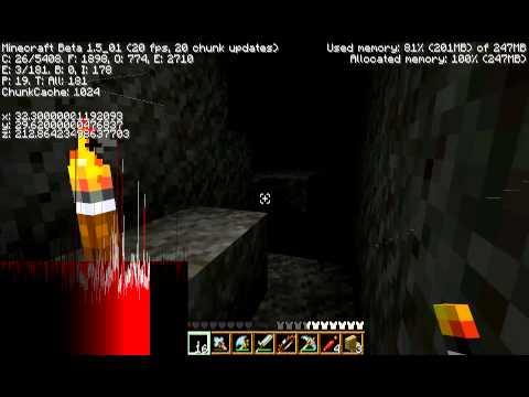 Minecraft - Seeing thru walls (no hacking no mods)