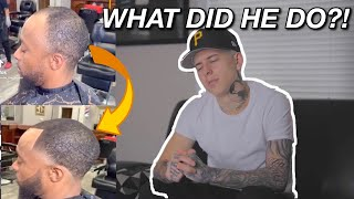 HE SHOULD HAVE WENT BALD! 🤦🏻‍♂️ REACTING TO MY FOLLOWERS HAIRCUTS 💈😳
