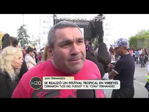 Se realizó un festival tropical en Virreyes - San Fernando