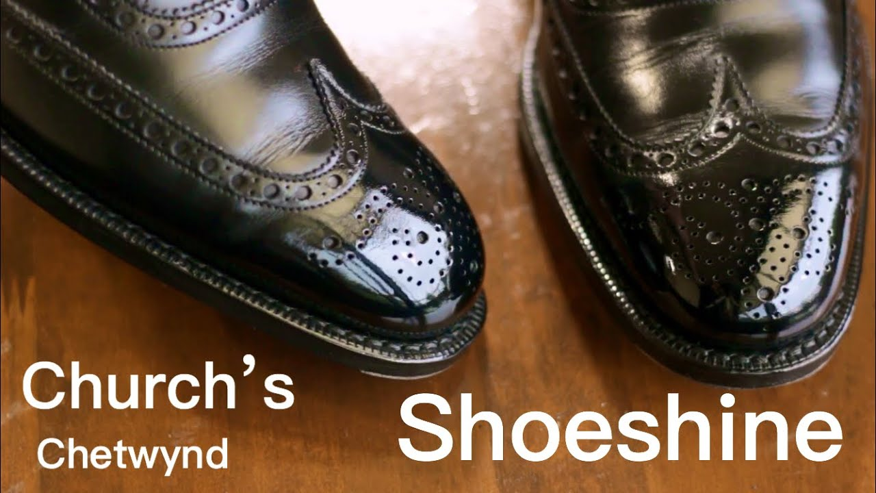 Shoeshine Church's CHETWYND ASMR
