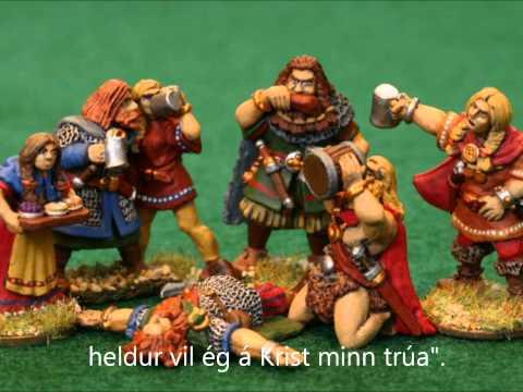 Ólafur Liljurós - Íslandsklukkur Icelandic folk music with Lyrics