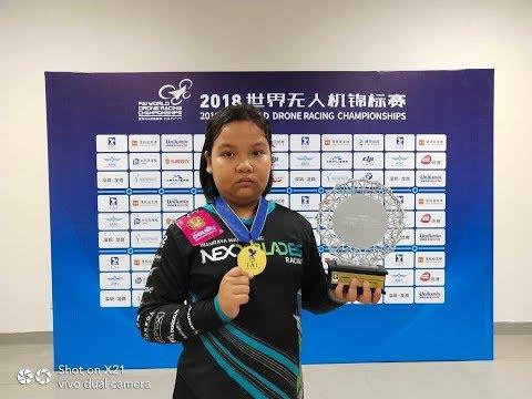 เด็กไทย แชมป์โดรนเรสซิ่งโลก FAI World Drone Racing Championship 2018 Shenzhen