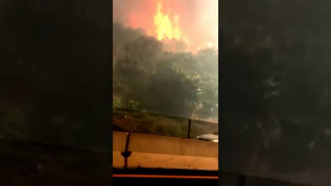 Incendio Tijuana 9 de noviembre de 2016