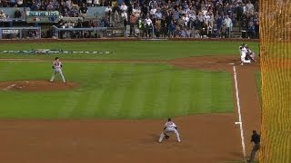 Uribe homers after trying to bunt