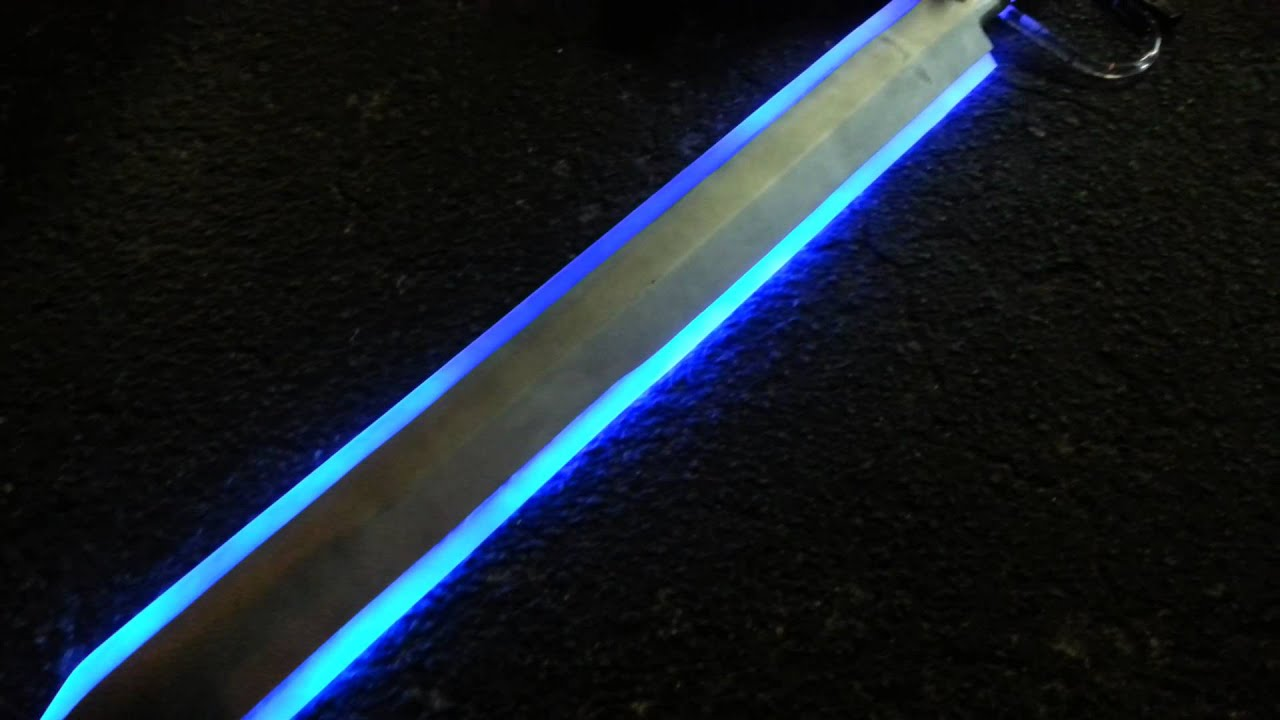 Fine El Wire Sword Adornment - Electrical and Wiring Diagram Ideas ...