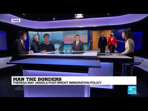 Man the borders: Theresa May unveils post-Brexit immigration policy Mp3