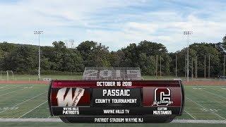 Clifton vs Wayne Hills Passaic Cty Girls Soccer tournament 10/16/18