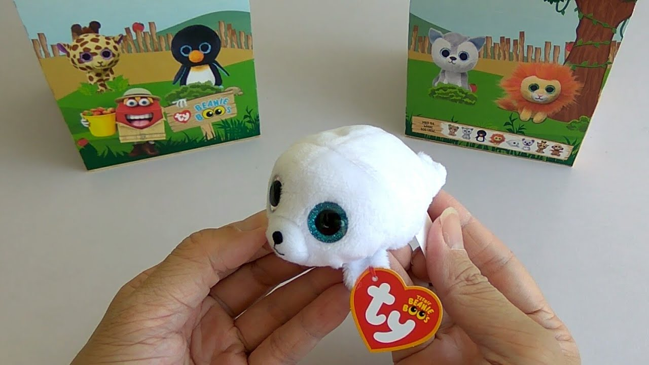 46aab7032cd McDonald s Happy Meal Toy  TY Beanie Boos - Seamore (2018) - YouTube
