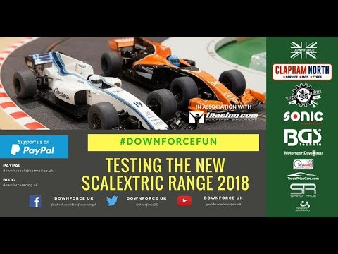 Scalextric 2018 – New Slot Car Racing Range – Downforce UK @ Toy Fair 2018