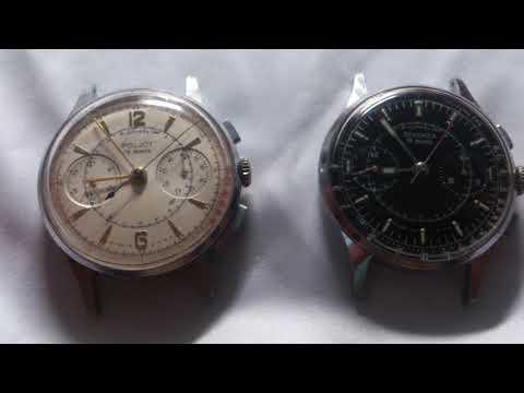 Poljot 3017 and Sekonda 3017(Serial#21424 and 32338)