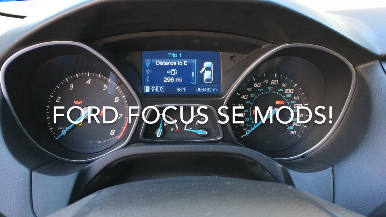 2017 Ford Focus Mods