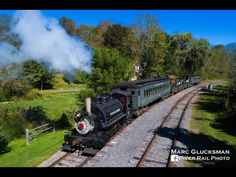 Delaware & Ulster Railroad Steam Weekend - Arkville, NY