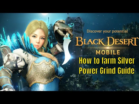Black Desert Mobile: Free2play/How to Silver Farm/Power Farming Tactic/