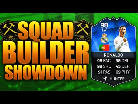 SQUAD BUILDER SHOWDOWN!!! TOTY RONALDO!!! FIFA 16 ULTIMATE TEAM